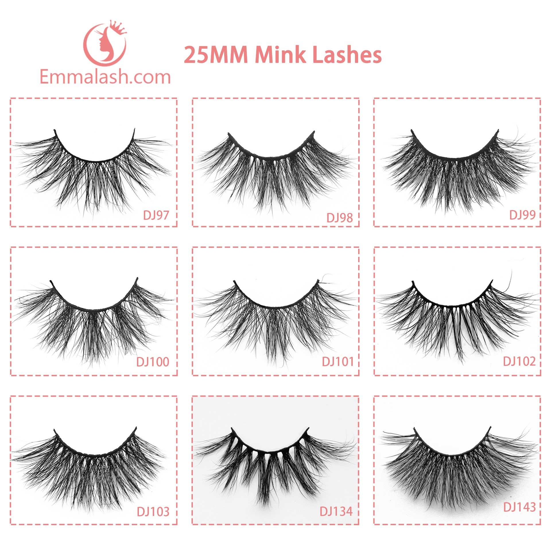wholesale mink lashes 25