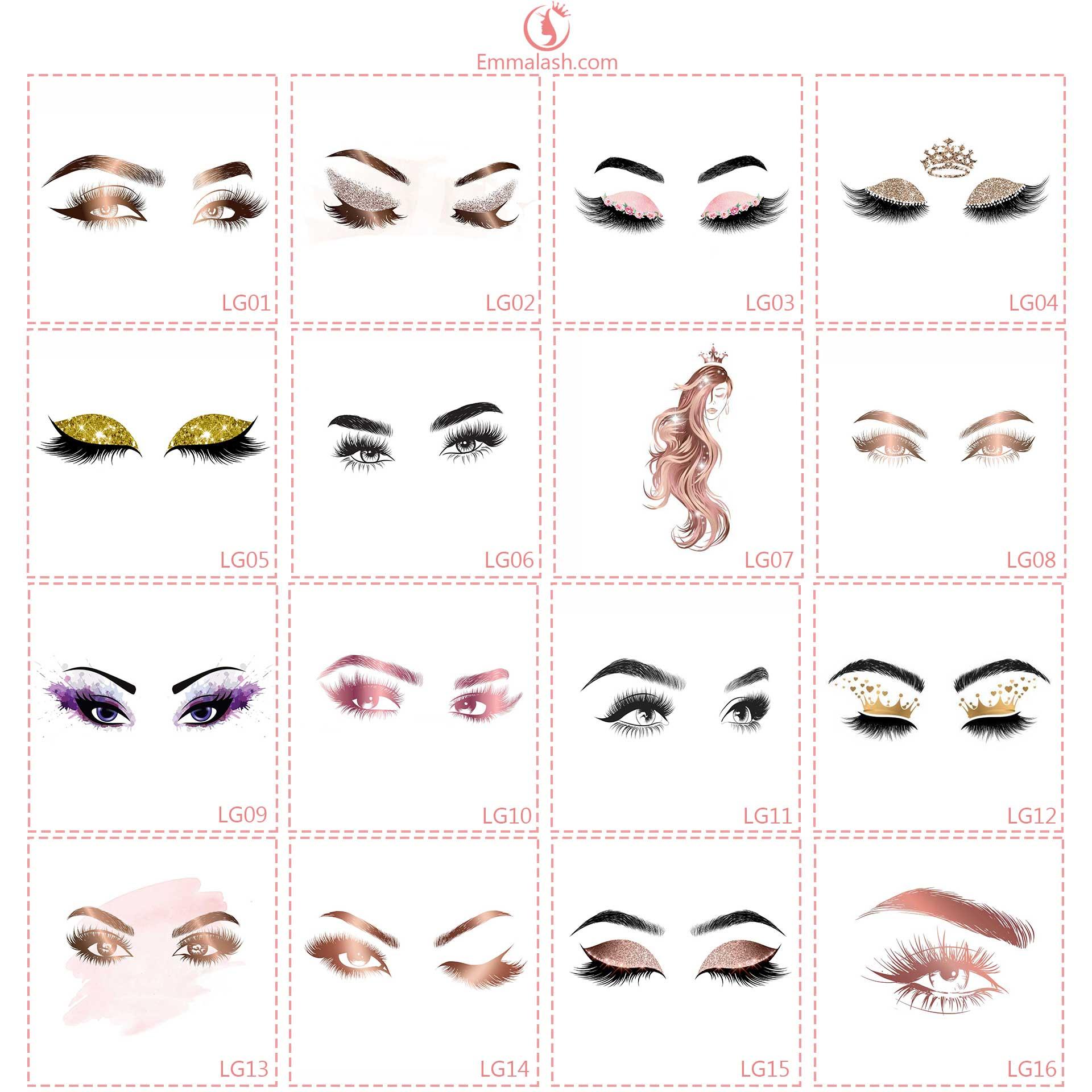 wholesale mink lashes logo