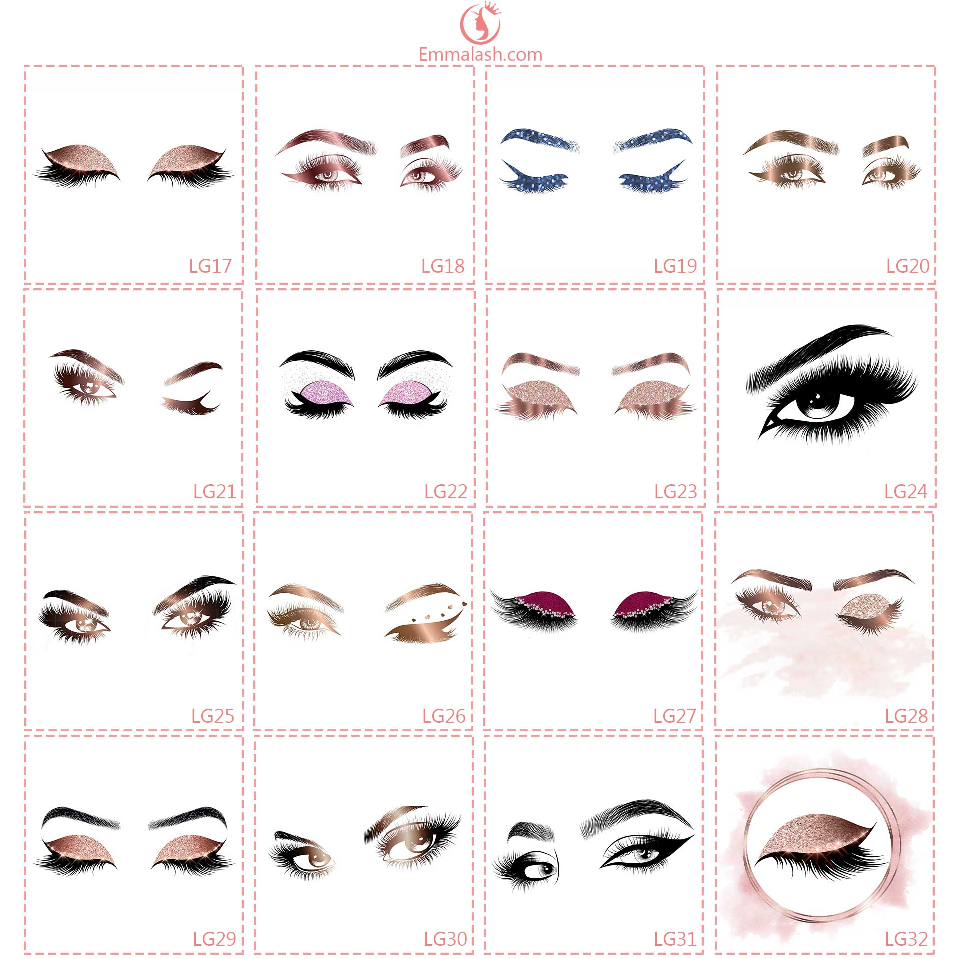 wholesale mink lashes logo2