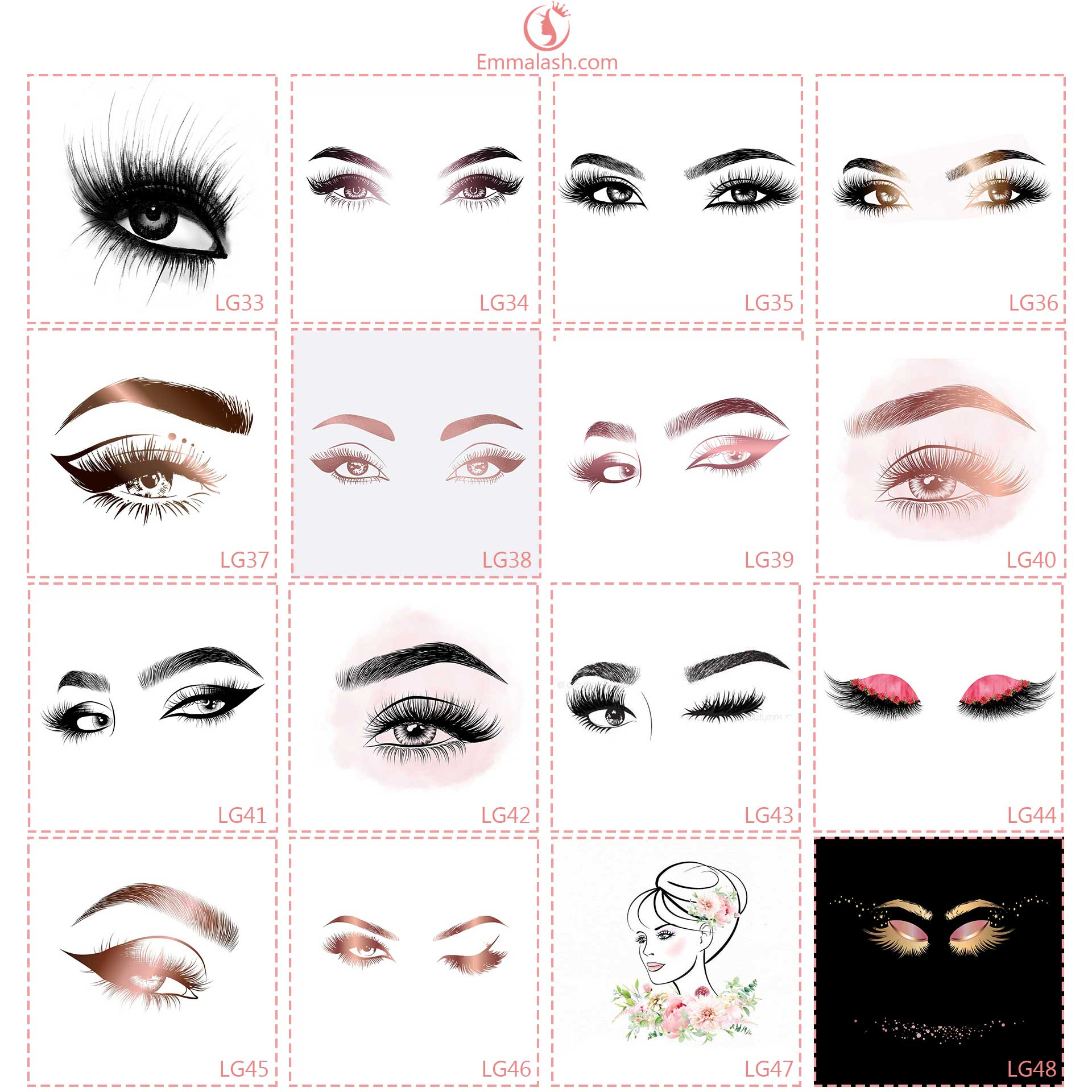 wholesale mink lashes logo3
